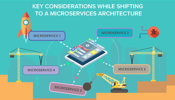 Key considerations while shifting to a microservices architecture